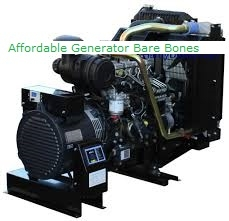 8kW Bare Bones Generator with Perkins Engine and Mecc Alte Head.