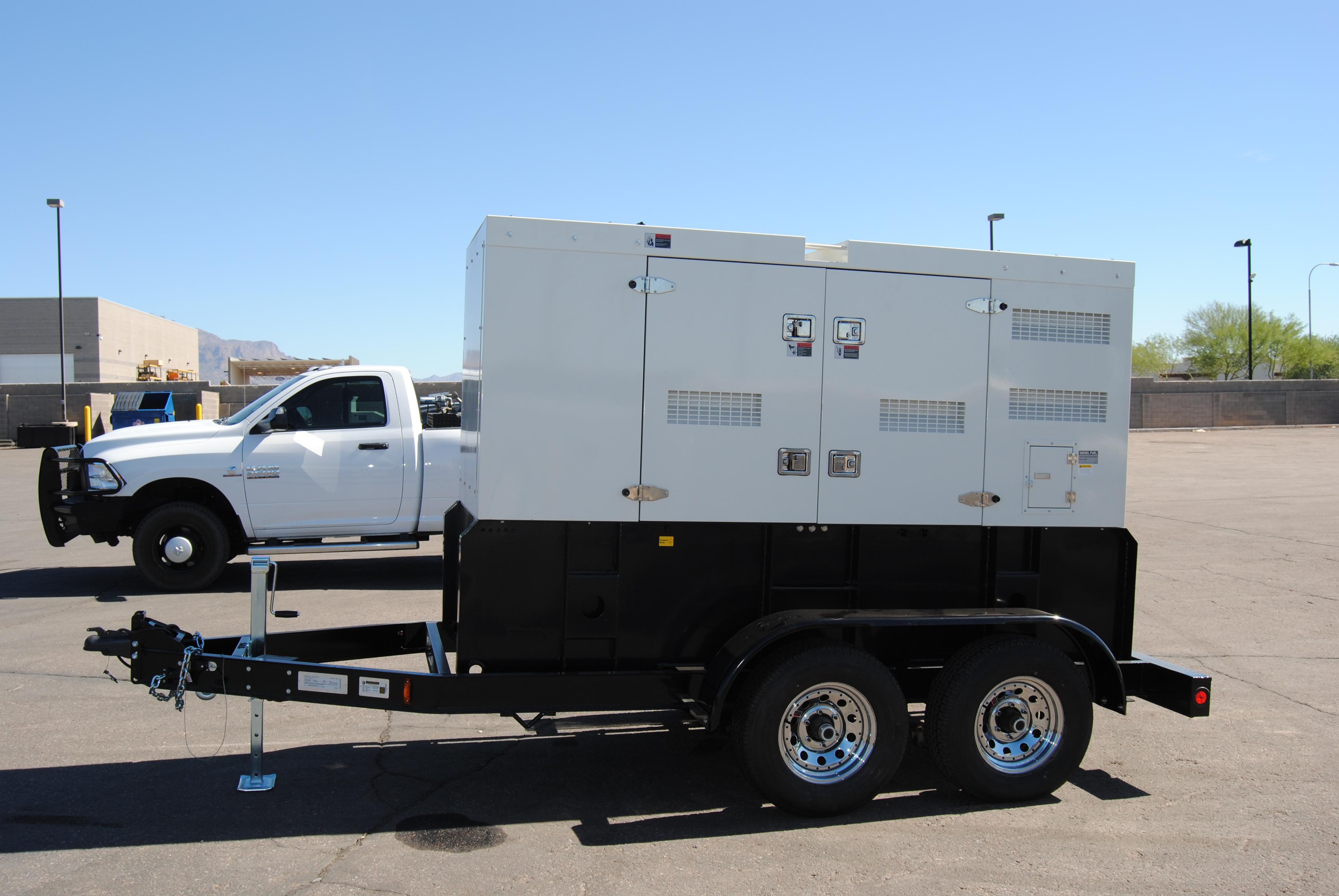 Mobile Rental Grade Generators