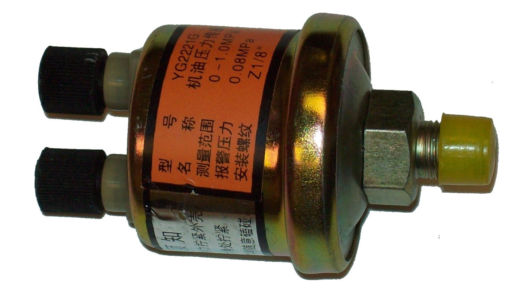Oil Pressure Sensor >> Oil Pressure Sensor