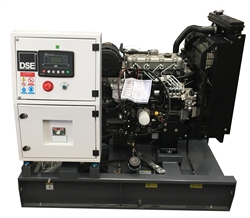 25kW OEM Generator with Perkins Engine, Base Tank and Deep Sea 6020 Digital Controller